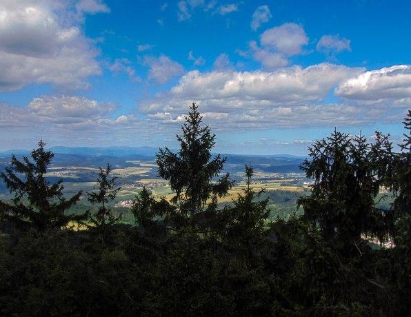 Vista desde la montaña Szczeliniec Wielki
