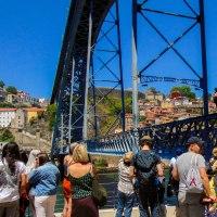 Adrenalina pura desde el Puente de Luis (Oporto)
